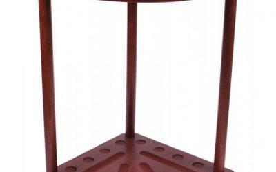 stojak narożny 8 kijów kolor maho